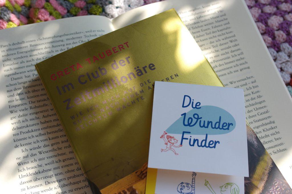 """Das Buch """"Im Club der Zeitmillionäre"""""""