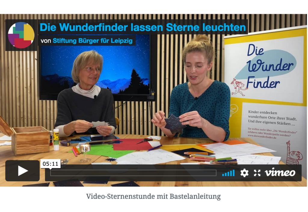 Screenshot Vimeo Sternstunde